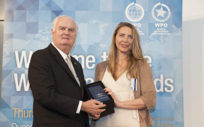 Favia awarded at  2017 WorldStar Packaging Awards
