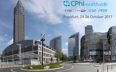 Countdown for CphI 2017: meet us in Frankfurt