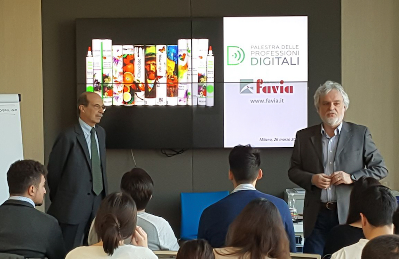 L'Innovazione Favia alla Palestra delle Professioni Digitali