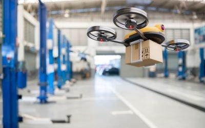 E-commerce and drones: the aluminium tube takes flight?