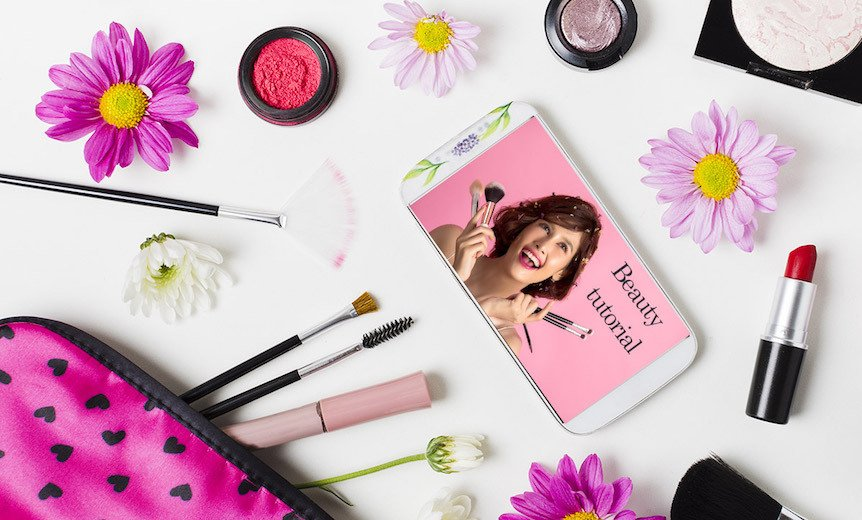 Cosmetic packaging goes smart