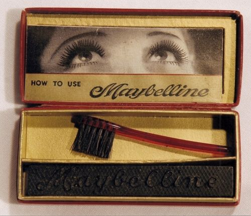 Maybelline's first mascara packaging