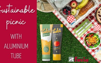 Aluminium tubes: the ideal solution for a picnic