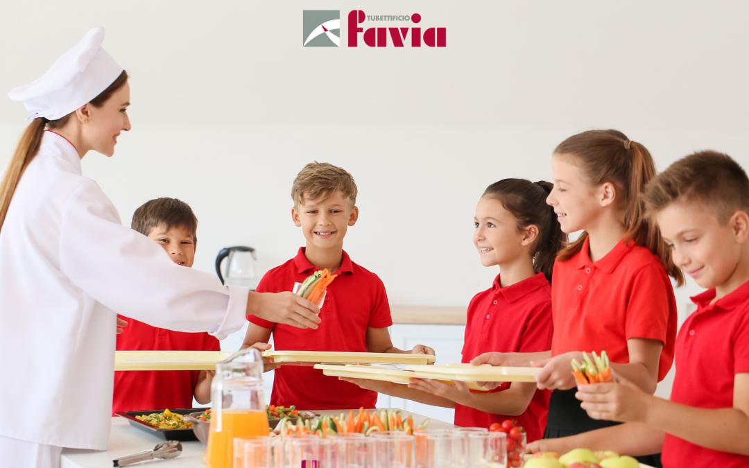 Packaging alimentare per mense e catering
